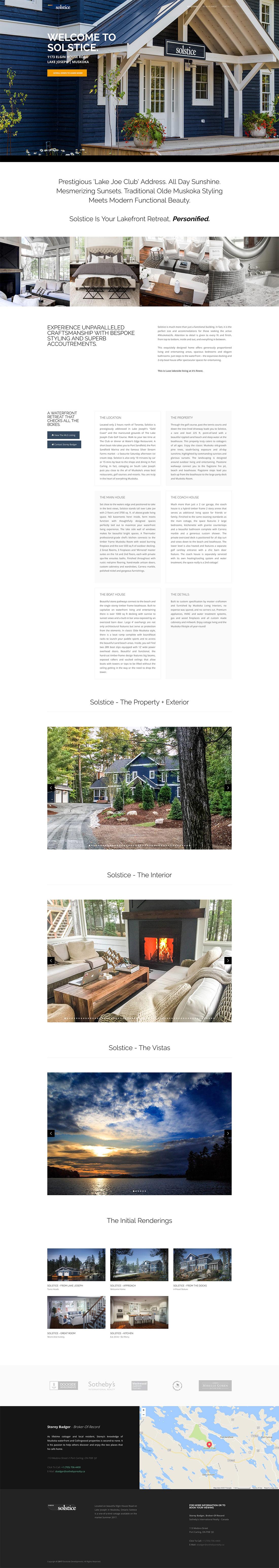 Solstice - Web Site